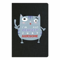 Блокнот А5 Cute cat and text