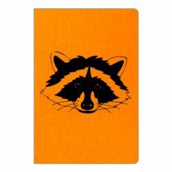 Блокнот А5 Cute raccoon face