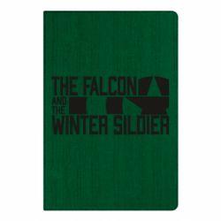 Блокнот А5 Falcon and winter soldier logo