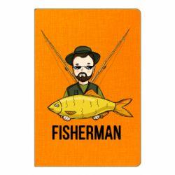 Блокнот А5 Fisherman and fish