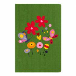 Блокнот А5 Flowers and Butterflies