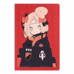 Блокнот А5 Girl in a jacket