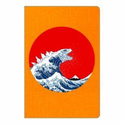 Блокнот А5 Godzilla Wave