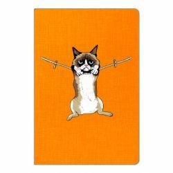 Блокнот А5 Grumpy Cat On The Rope