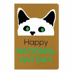 Блокнот А5 Happy National Cat Day