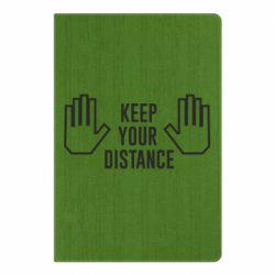 Блокнот А5 Keep your distance