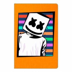 Блокнот А5 Marshmello Colorful Portrait