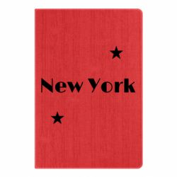 Блокнот А5 New York and stars