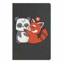 Блокнот А5 Panda and fire panda