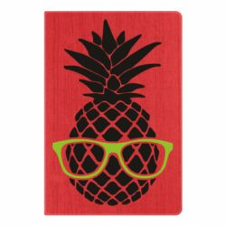 Блокнот А5 Pineapple with glasses
