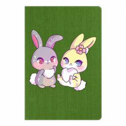 Блокнот А5 Rabbits In Love