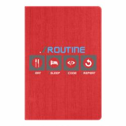 Блокнот А5 Routine code