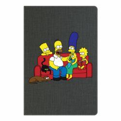 Блокнот А5 Simpsons At Home