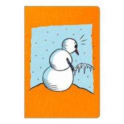 Блокнот А5 Snowman. It's Cold!