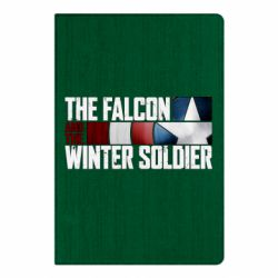 Блокнот А5 The Falcon and the Winter Soldier