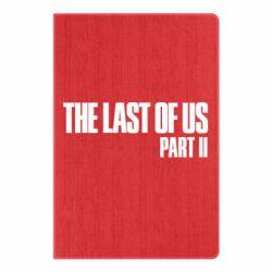 Блокнот А5 The last of us part 2 logo