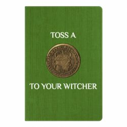Блокнот А5 Toss a coin to your witcher ( орен )