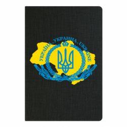 Блокнот А5 Україна Мапа
