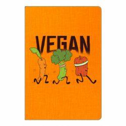 Блокнот А5 Веган овочі