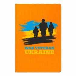 Блокнот А5 War veteran оf Ukraine