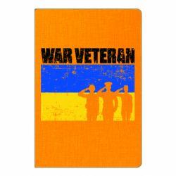 Блокнот А5 War veteran