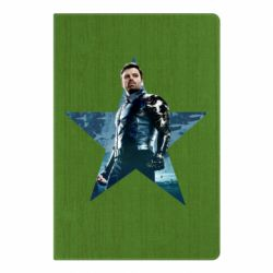Блокнот А5 Winter Soldier Star