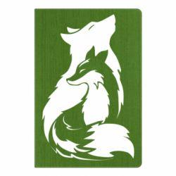 Блокнот А5 Wolf And Fox