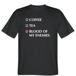 Чоловіча футболка Blood of my enemies