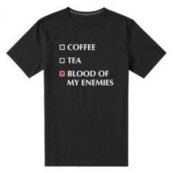 Чоловіча стрейчева футболка Blood of my enemies