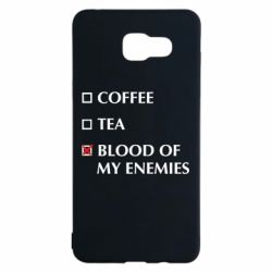 Чохол для Samsung A5 2016 Blood of my enemies