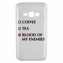 Чохол для Samsung J1 2016 Blood of my enemies