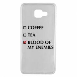 Чохол для Samsung A7 2016 Blood of my enemies