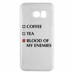 Чохол для Samsung S6 EDGE Blood of my enemies