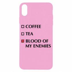 Чохол для iPhone X/Xs Blood of my enemies