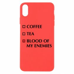 Чохол для iPhone Xs Max Blood of my enemies