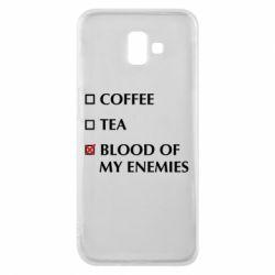 Чохол для Samsung J6 Plus 2018 Blood of my enemies