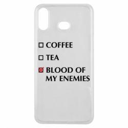 Чохол для Samsung A6s Blood of my enemies