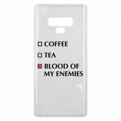 Чохол для Samsung Note 9 Blood of my enemies