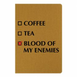 Блокнот А5 Blood of my enemies