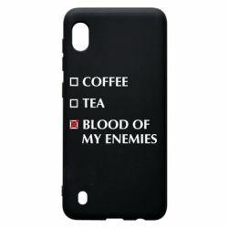Чохол для Samsung A10 Blood of my enemies