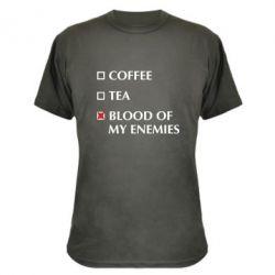Камуфляжна футболка Blood of my enemies