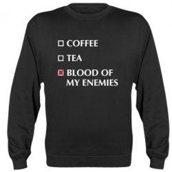 Реглан (світшот) Blood of my enemies