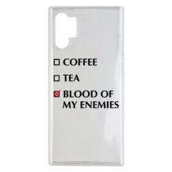 Чохол для Samsung Note 10 Plus Blood of my enemies