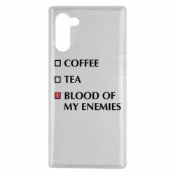 Чохол для Samsung Note 10 Blood of my enemies