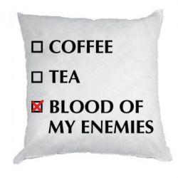 Подушка Blood of my enemies