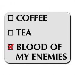 Килимок для миші Blood of my enemies