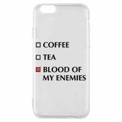 Чохол для iPhone 6/6S Blood of my enemies