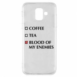 Чохол для Samsung A6 2018 Blood of my enemies