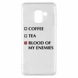Чохол для Samsung A8 2018 Blood of my enemies