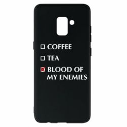 Чохол для Samsung A8+ 2018 Blood of my enemies